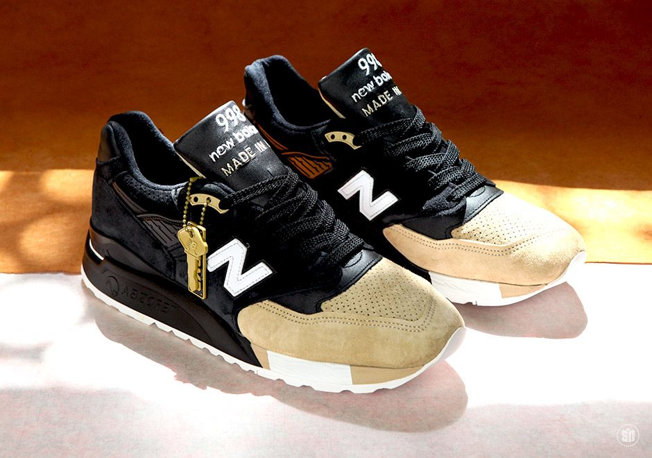 New Balance teams up with Premier to create the 998 with heavy inspiration from the historic auto industry.