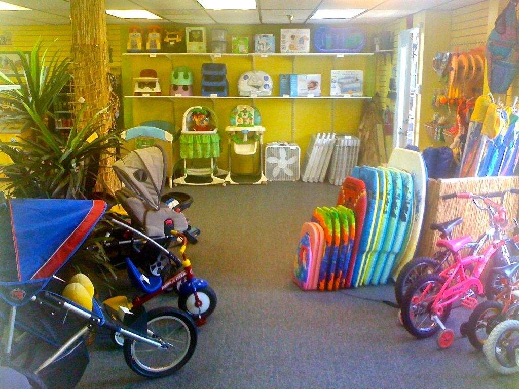 A To Z Baby Beach And Bike Rentals Info And Locations