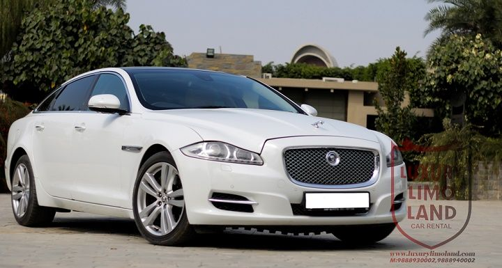 Jaguar Xjl For Wedding Nd Any Other Occations Contact Us For Booking 98889 30002 98889 40002 Www Luxurylimoland Com Luxury Car Rental Car Hire Hummer Cars