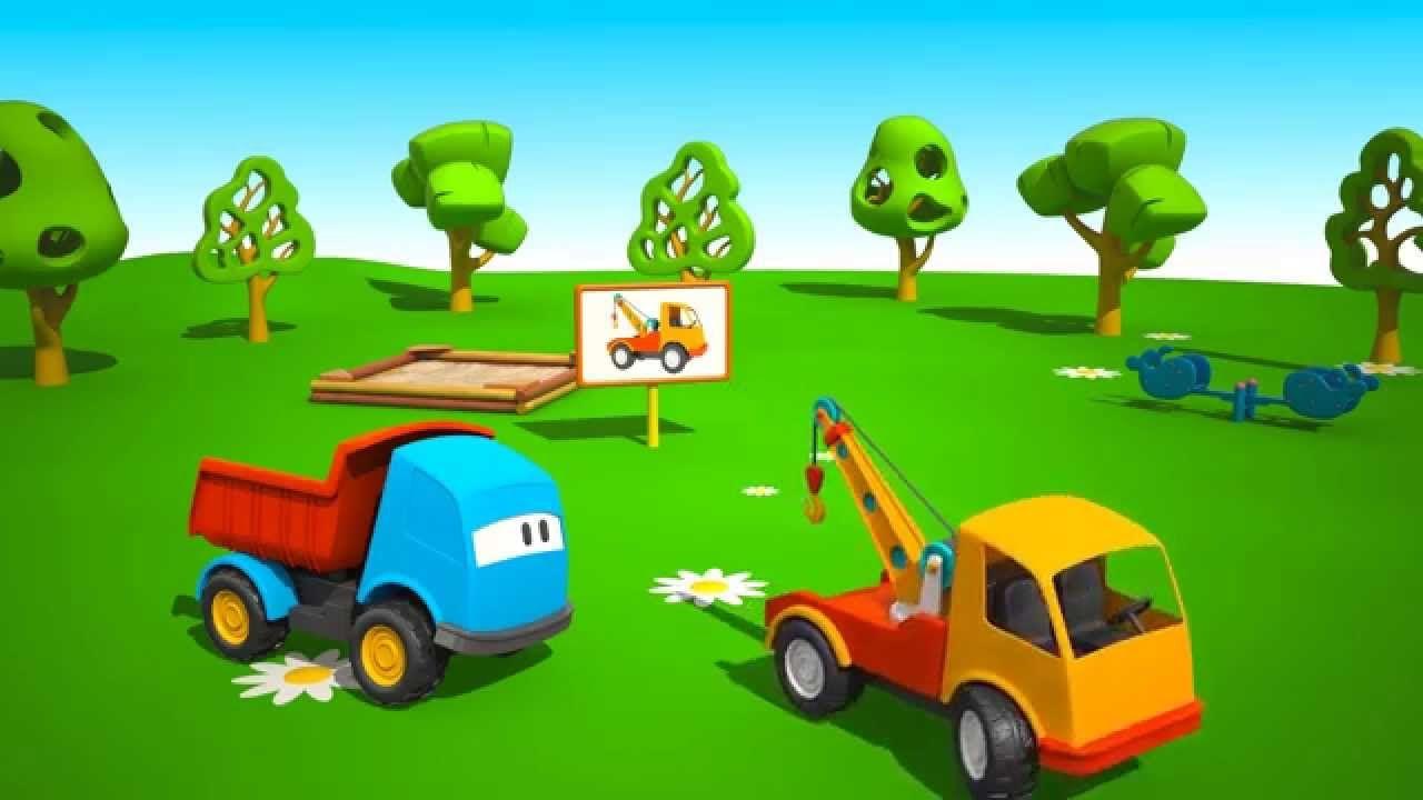 Cartoni animati per bambini leo il camion curioso e il