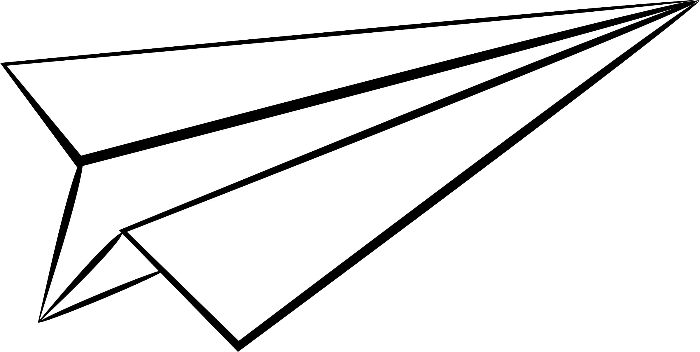 White Paper Plane Paper Plane Paper Airplanes Paper Airplane Drawing