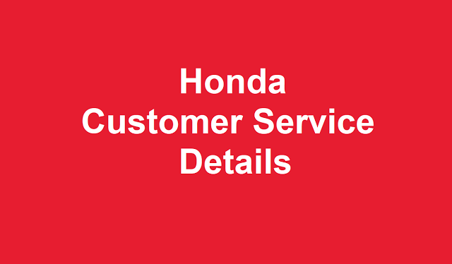 Honda Customer Service Number , Honda 24/7 Contact Number USA, Honda  Support Number, Honda 1 800 Toll Free Numbers ...