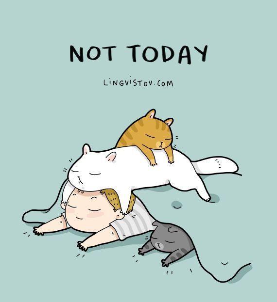 Einfach mal nichts tun...