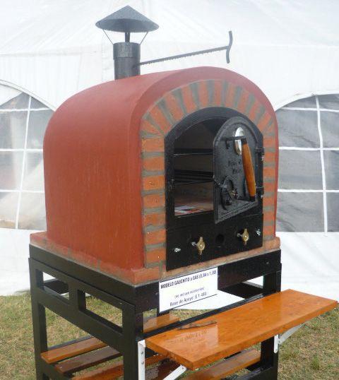 Hornos de barro a le a y a gas tatacu modelo gauchito - Modelos de hornos de lena ...