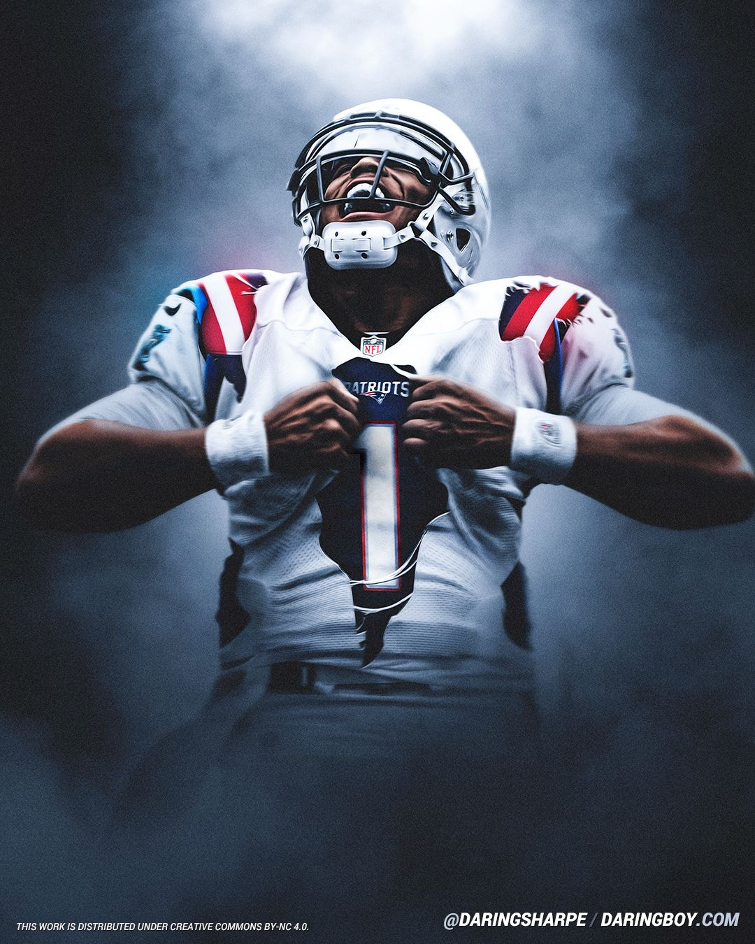 Cam Newton New England Patriots Carolina Panthers In 2020 New England Patriots Logo Nfl Patriots New England Patriots Wallpaper