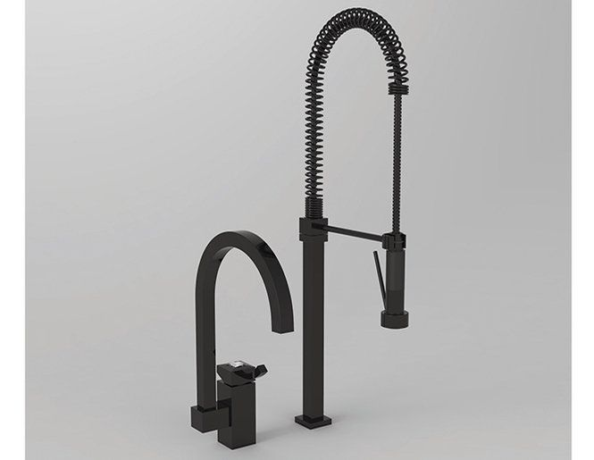 Nice New Black Kitchen Faucet With Sprayer 72 In Small Home Decor