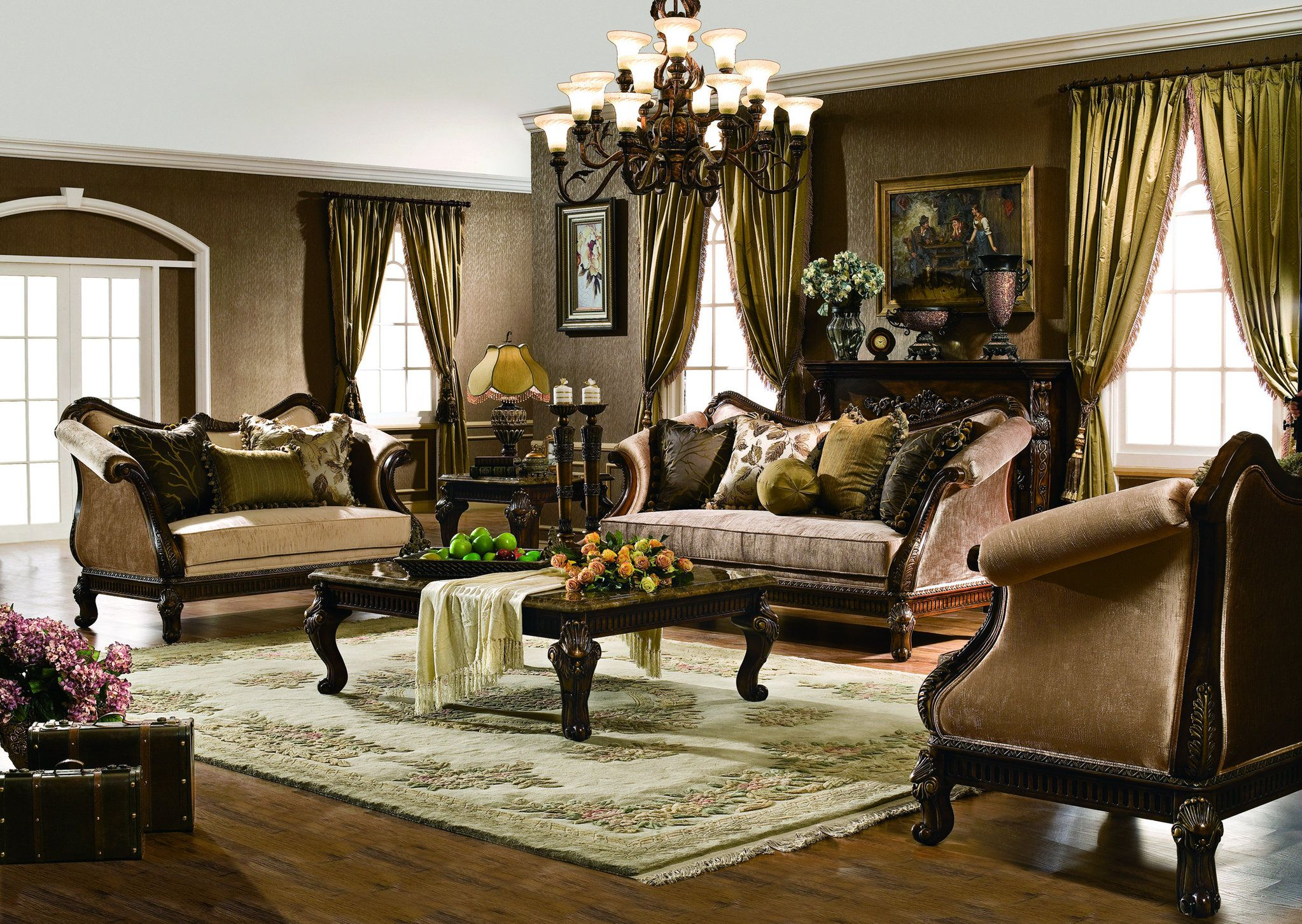 The Venice Formal Living Room Collection