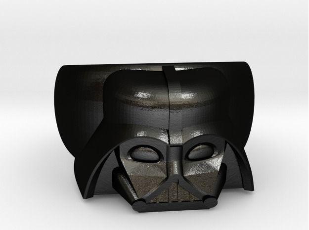 Darth Vader Ring by LuraSDesign on Shapeways 3D printing