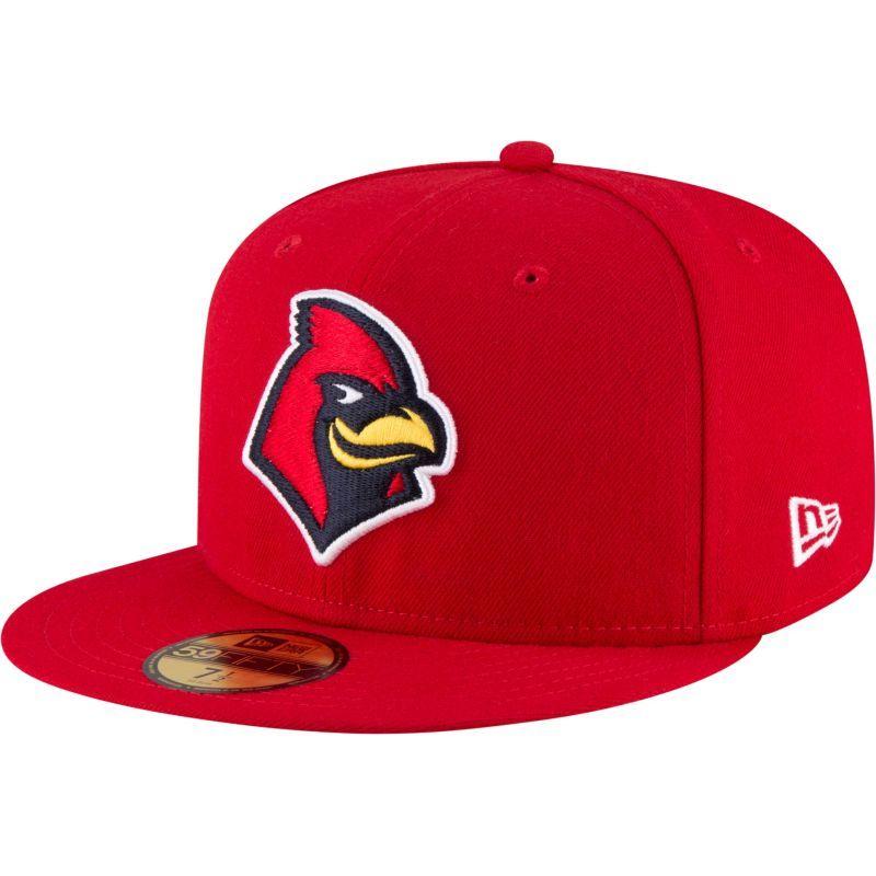 designer fashion a4d69 46c91 New Era Men s Memphis Redbirds 59Fifty Red Authentic Hat, Size  7 1 4, Multi