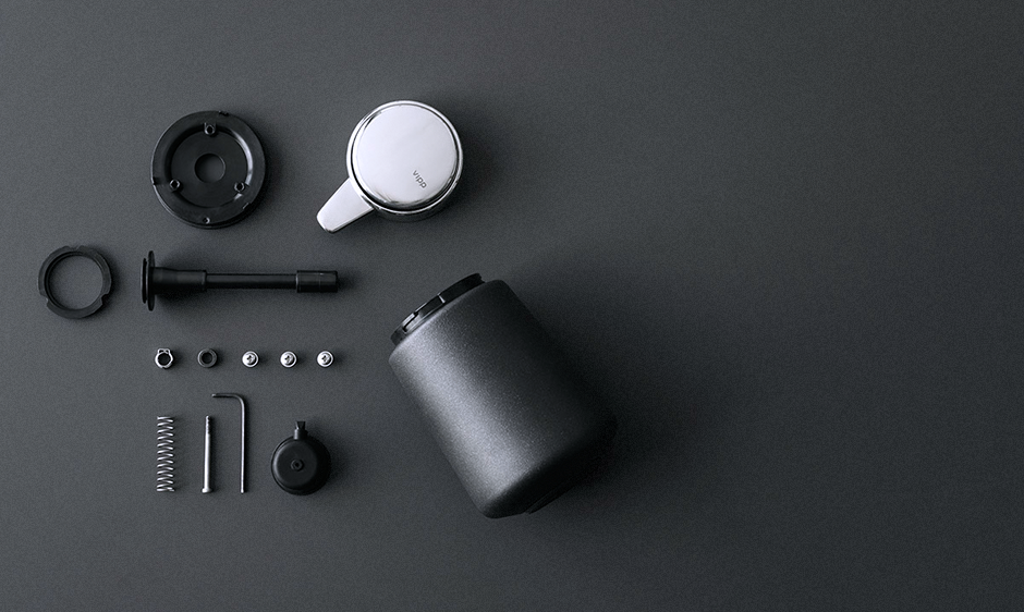 Badkamer Accessoires Vipp : Vipp products and accessories for kitchen and bathroom from