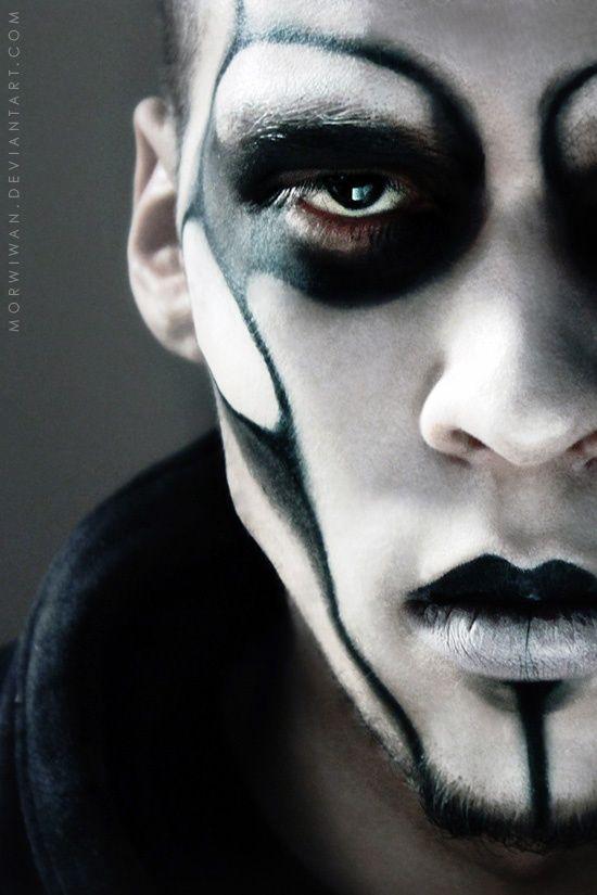 Gothic Makeup On Men