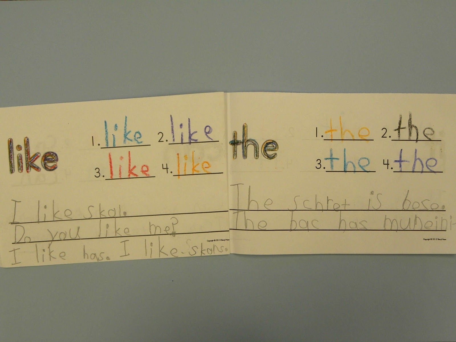 Rainbow Writing Provides Repeated Spelling Practice In A