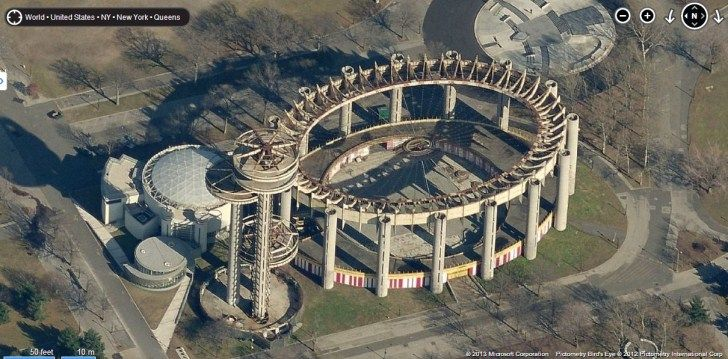 New York State Pavilion Abandoned Observation Towers and Tent of Tomorrow u2013 Abandoned Playgrounds & New York State Pavilion Abandoned Observation Towers and Tent of ...