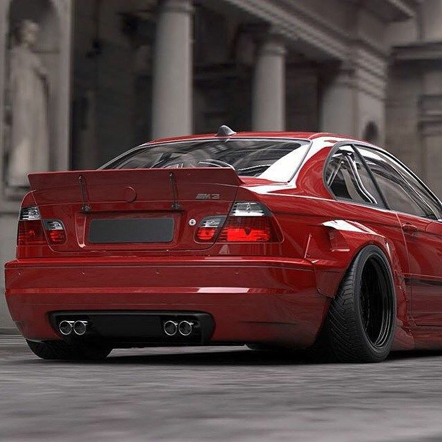 E46 Rocket Bunny Pandem Widebody Kit With Images Bmw Series