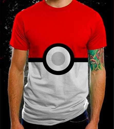 The Pokeball T-Shirt Will Make You the Hero of your Childhood Self #cartoons trendhunter.com