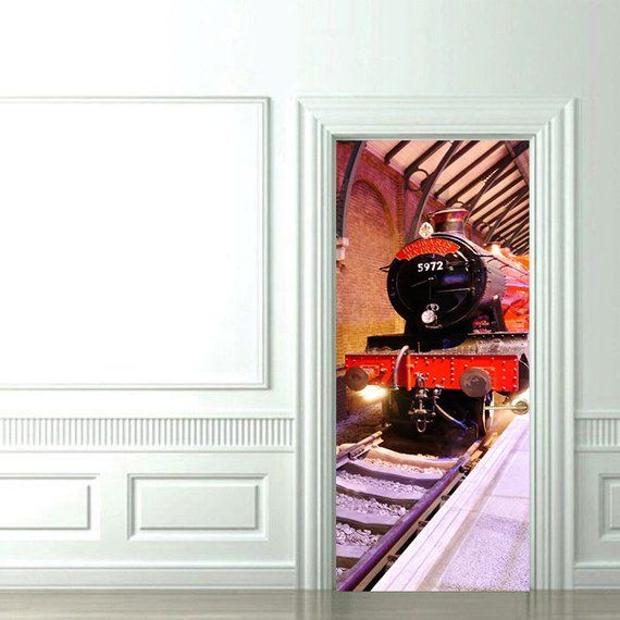 Plate-forme 9 3//4 Style Harry Potter Train Wall Art Decal Vinyl Sticker
