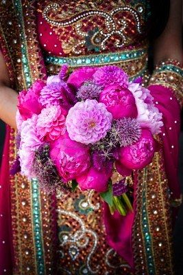 Image Of An Indian Brides Hands Holding Bouquet Bridal Bouquet Peonies Indian Wedding Flowers Bridal Bouquet