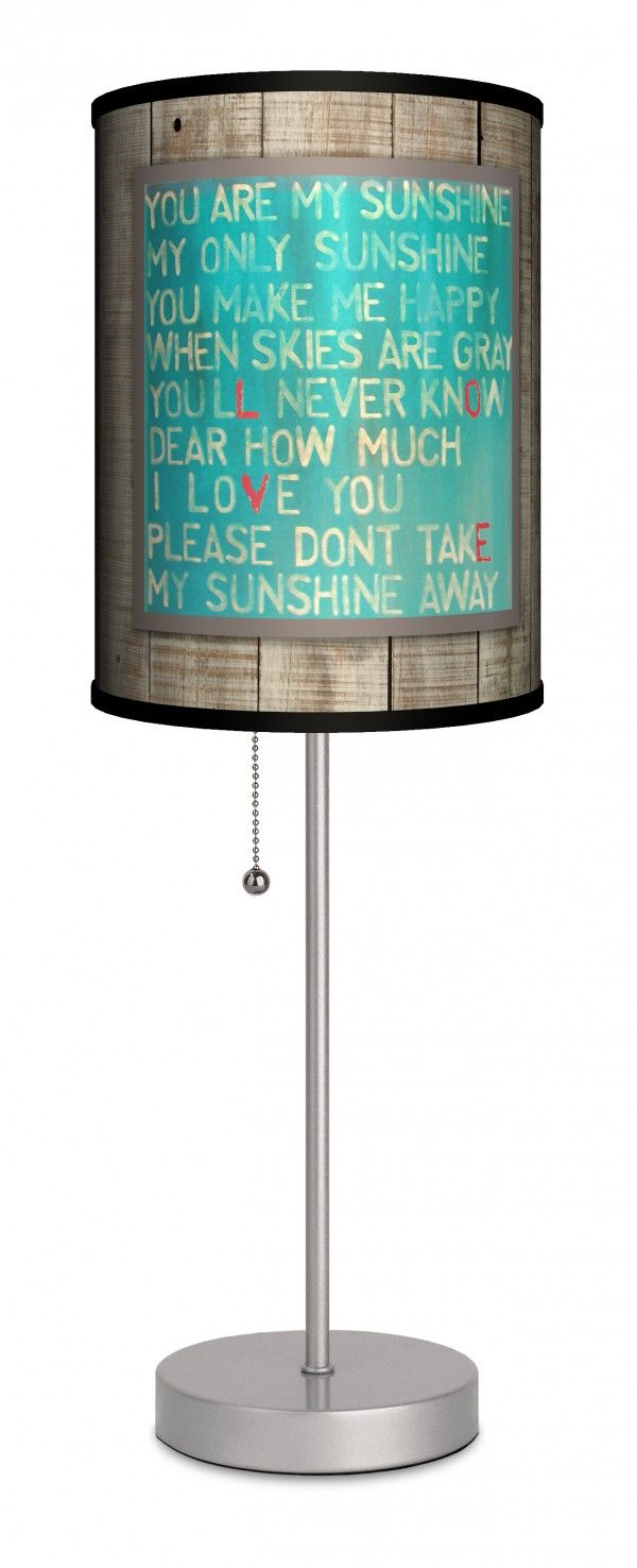 You Are My Sunshine Lamp In A Box.