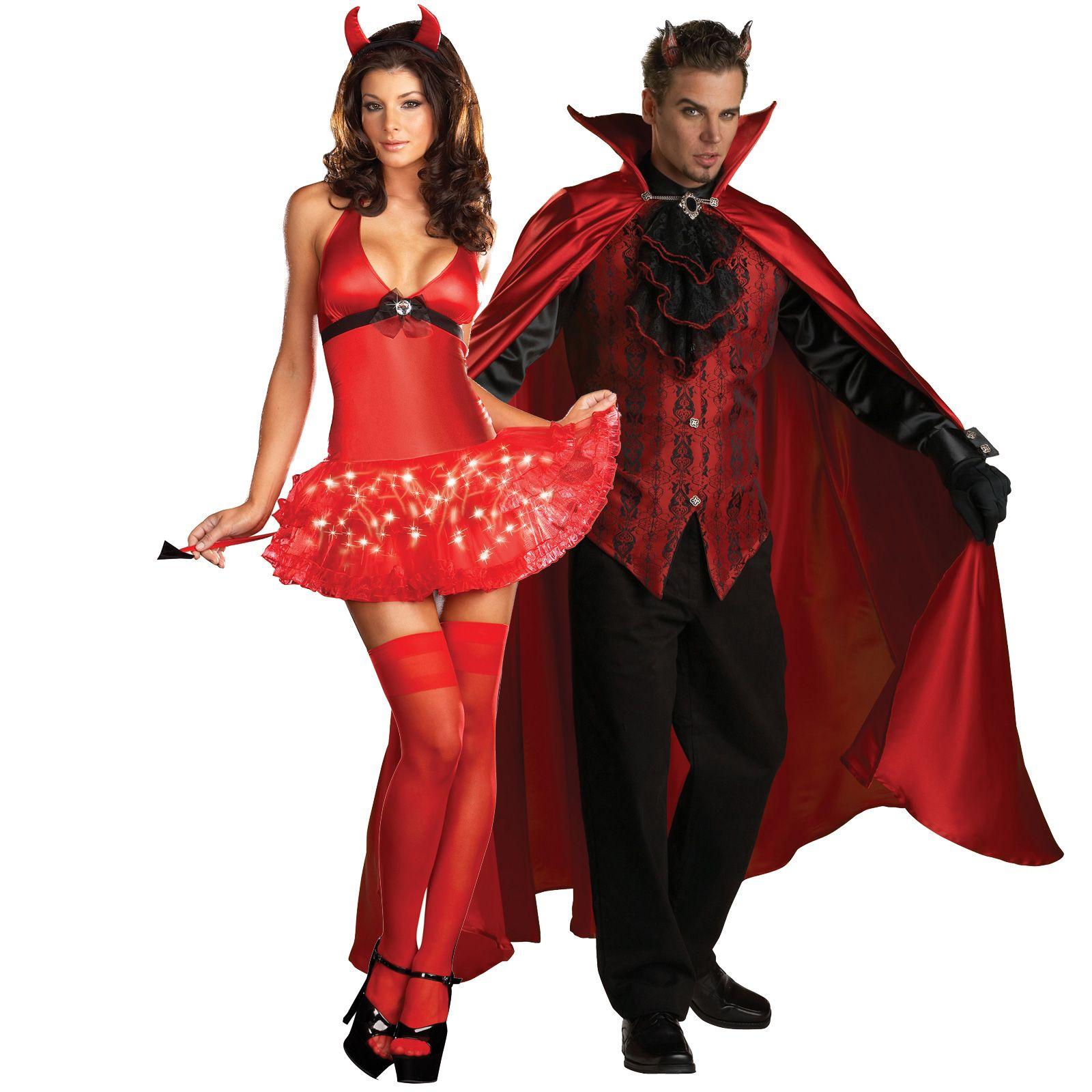 eb31bcc855d27 Devil's De-Light and Elite Handsome Devil Couples Costume - On Sale ...