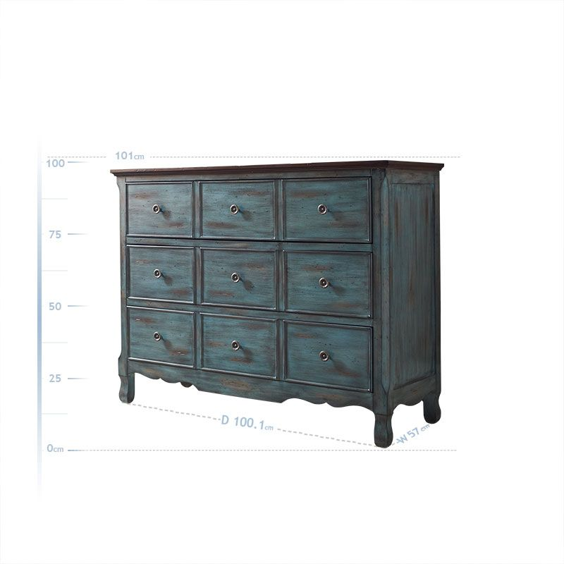Dresser: Costco UK - Hartford 9 Drawer Chest - Blue 249.99 | Small ...