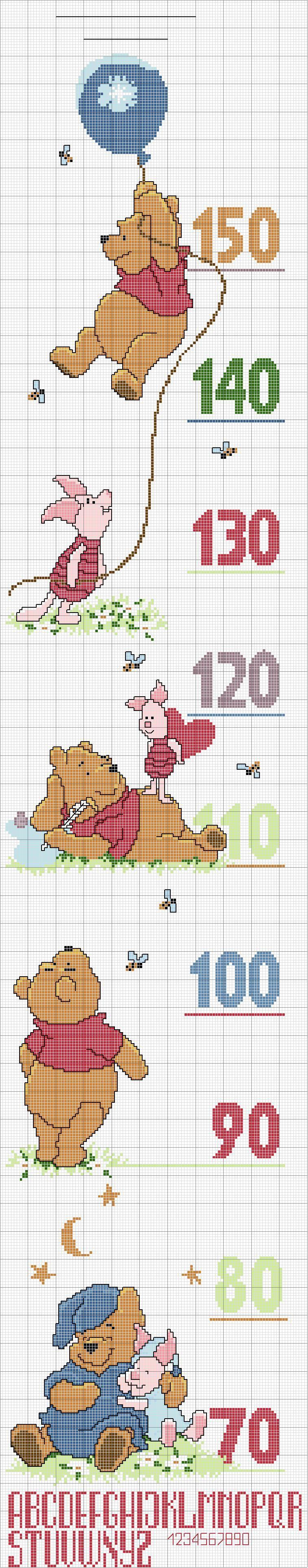 Toise Winnie Cross Stiches Pinterest Cross Stitch Stitch And
