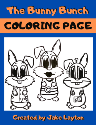 Free Coloring Pages The Bunny Bunch In 2020 Bunny Coloring Pages Coloring Pages Bunny
