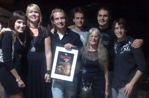 """Winner of the Short Sited best Horror Film For """"tThe Crone"""" http://kontrolproductions.com/film"""