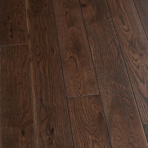 20.02 Sq. Ft//Carton Espresso Finish Engineered Hickory Wood Flooring
