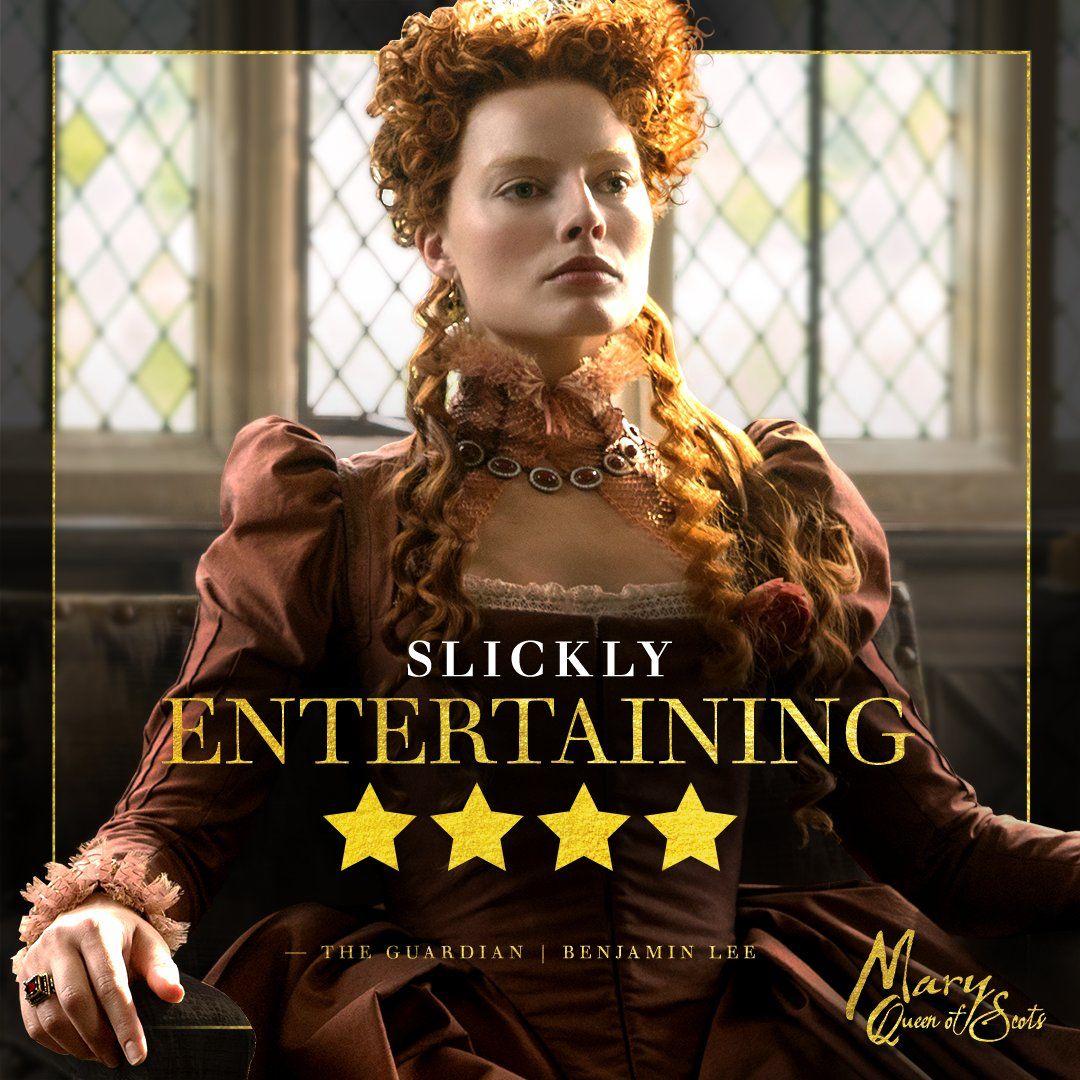 Mary Queen Of Scots 2018 Margot Robbie As Elizabeth Period