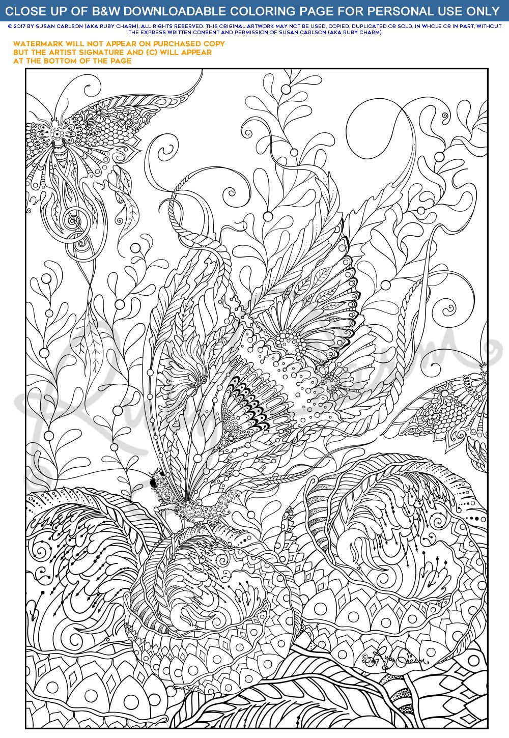 downloadable printable adult coloring