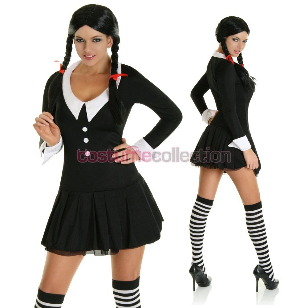 wednesday addams costume fancy dress | My-Rome.  sc 1 st  Pinterest & wednesday addams costume fancy dress | My-Rome... | Costumes ...