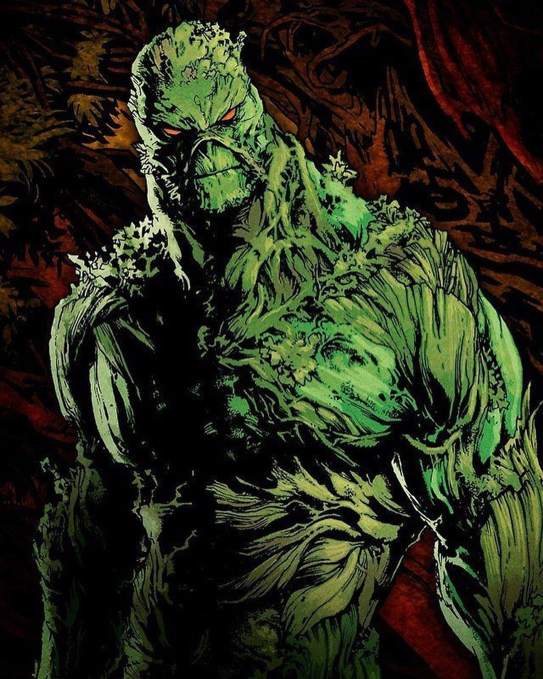COOL SWAMP THING ART Did you watch? / #swampthing #dcuniverse #comics  #comicart #comicartist #art #cosplay #… | Superhero comic, Justice league  dark, Dc comics art