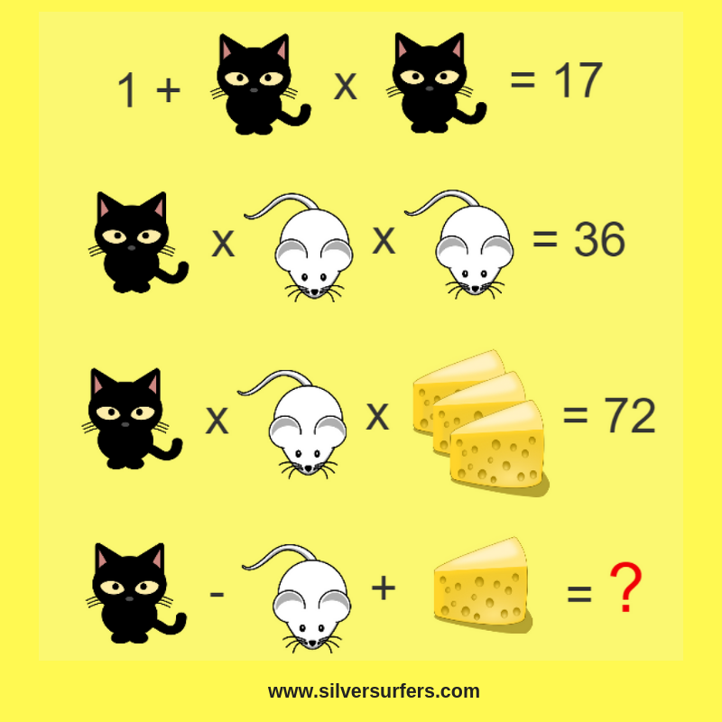 Riddles with answers Maths puzzles, Math riddles, Math