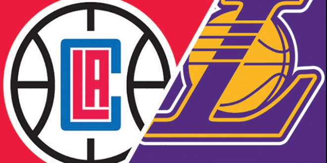 Los Angeles Lakers Vs Los Angeles Clippers Lakers Vs Los Angeles Clippers Los Angeles Lakers