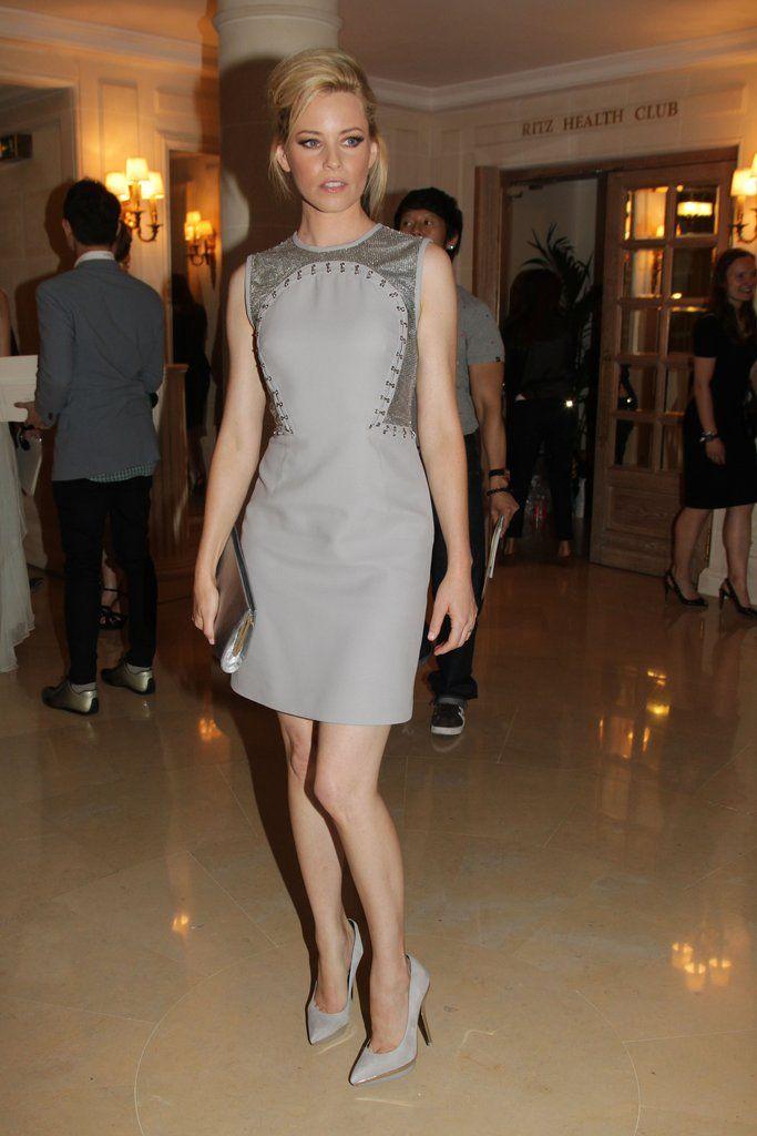 Elizabeth Banks at Couture Fashion Week July 2012