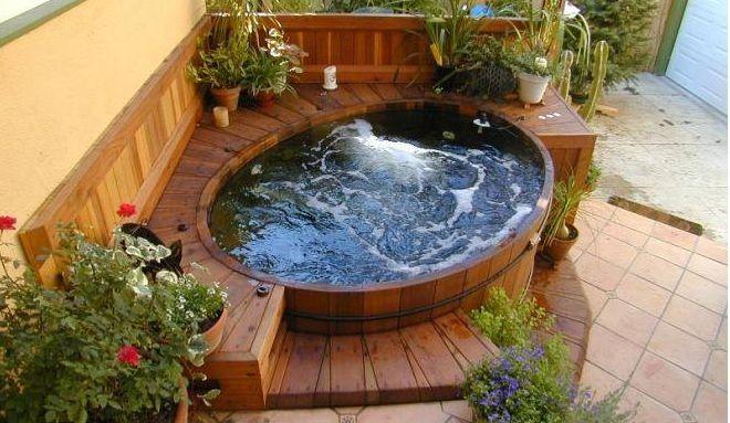 Ich Denke Dass Wir Wohl Alle Davon Traumen So Einen Tub Im Garten