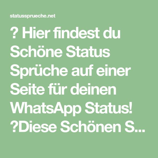 Sprüche whatsapp schöne 35 traumhaft