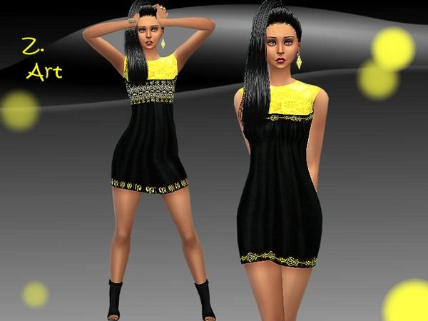 The Sims Resource: Yellow Move by Zuckerschnute20 • Sims 4 Downloads