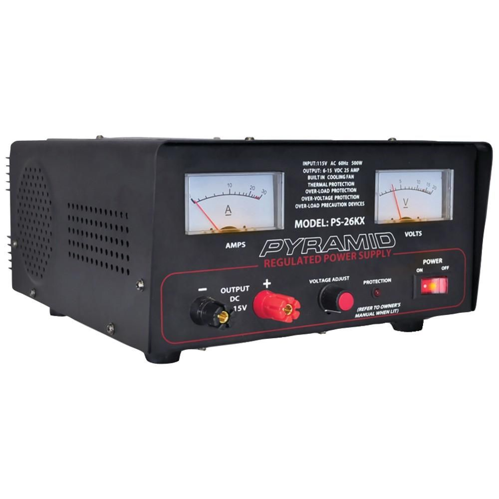 Pyramid 22 Amp Power Supply With Built In Cooling Fan Fans For