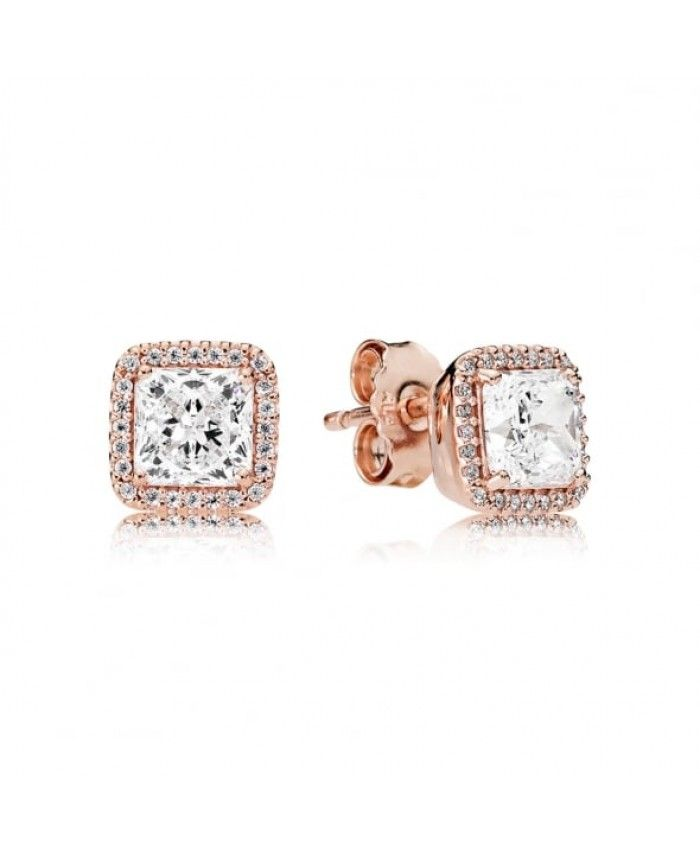 Pandora Rose Timeless Elegance Stud Earrings UK