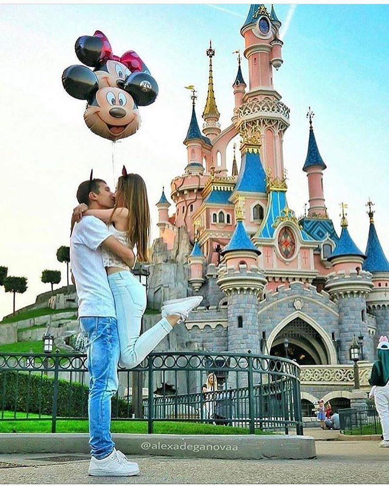 Disney Engagement Pictures Image By Systamell On LOVE
