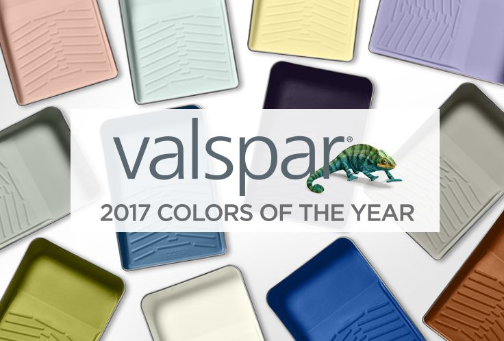Valspar 2017 Colors Of The Year Are In See All 12