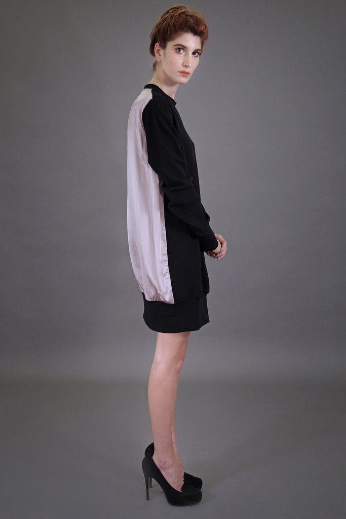 173c9790d2 Mia Silk Sweater Dress