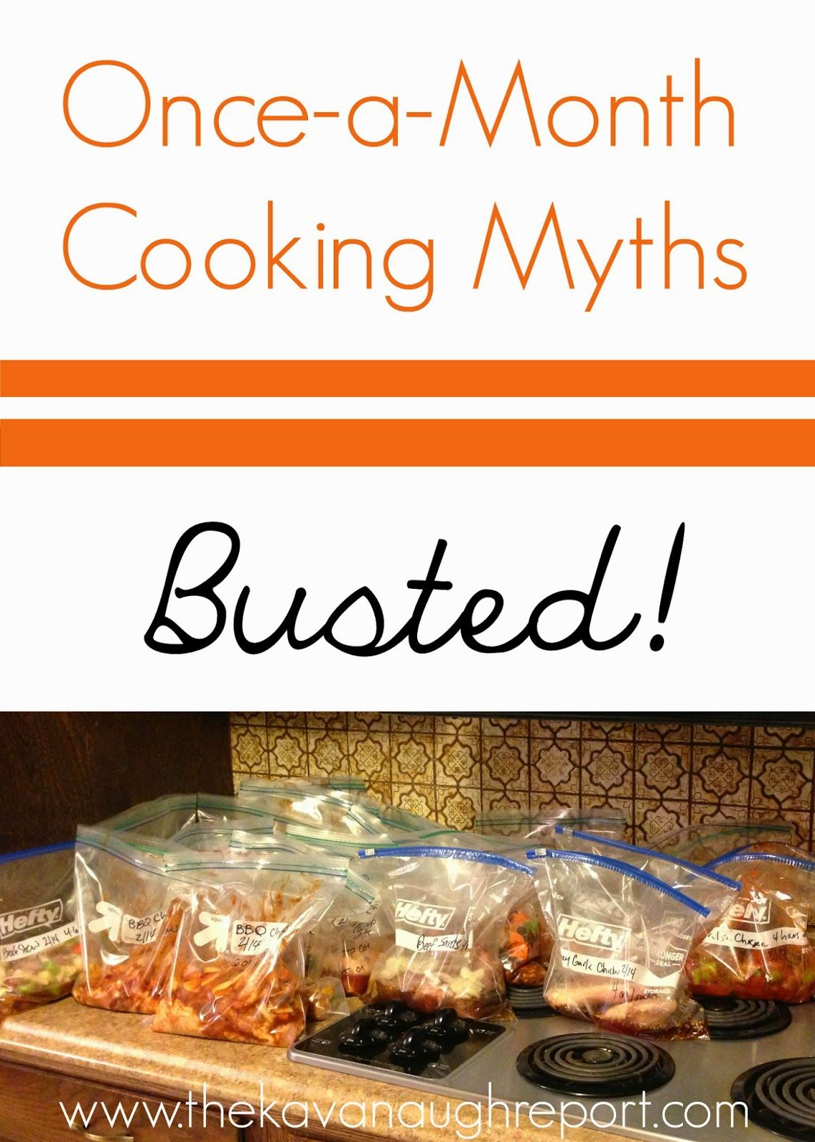 Once-a-Month Cooking Myths Busted