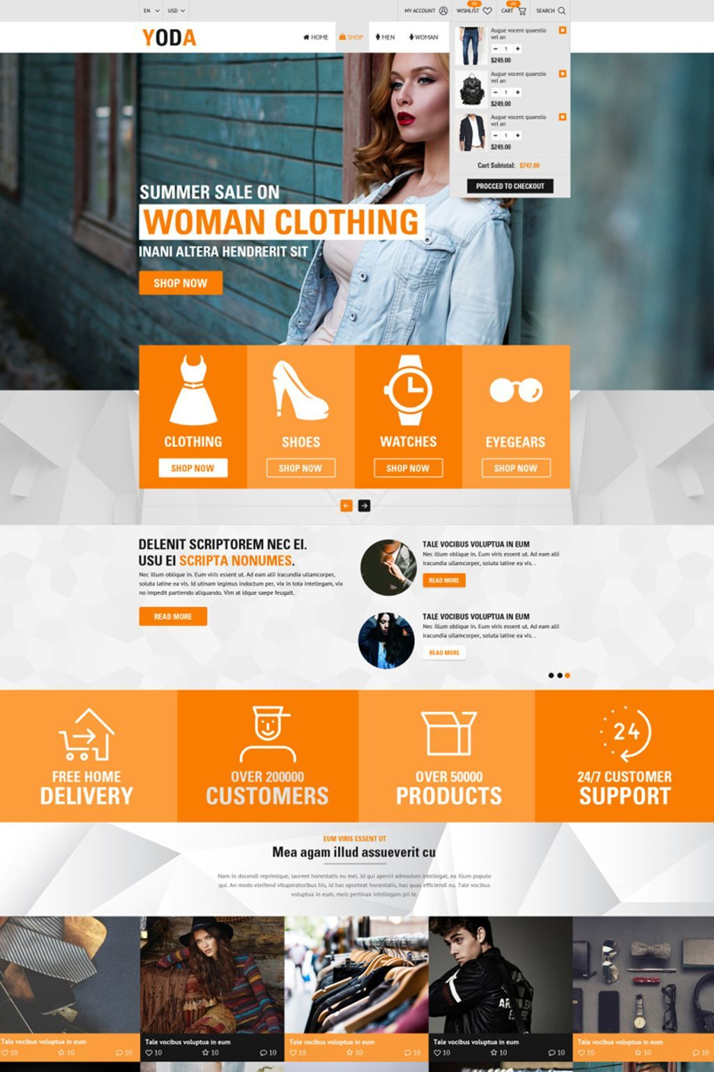 Ecommerce Clothing Website Template Themes Business Responsive Websitethemes Learn Web Design Website Design Trends Page Design