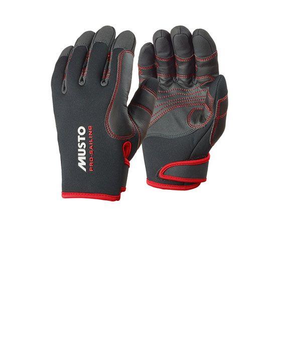 Schwarz Bootsport Musto Performance Handschuhe