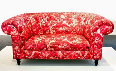 搜集成人黄色电影_The Meat Loveseat by Gerrard King | Love seat, Home decor, Furniture