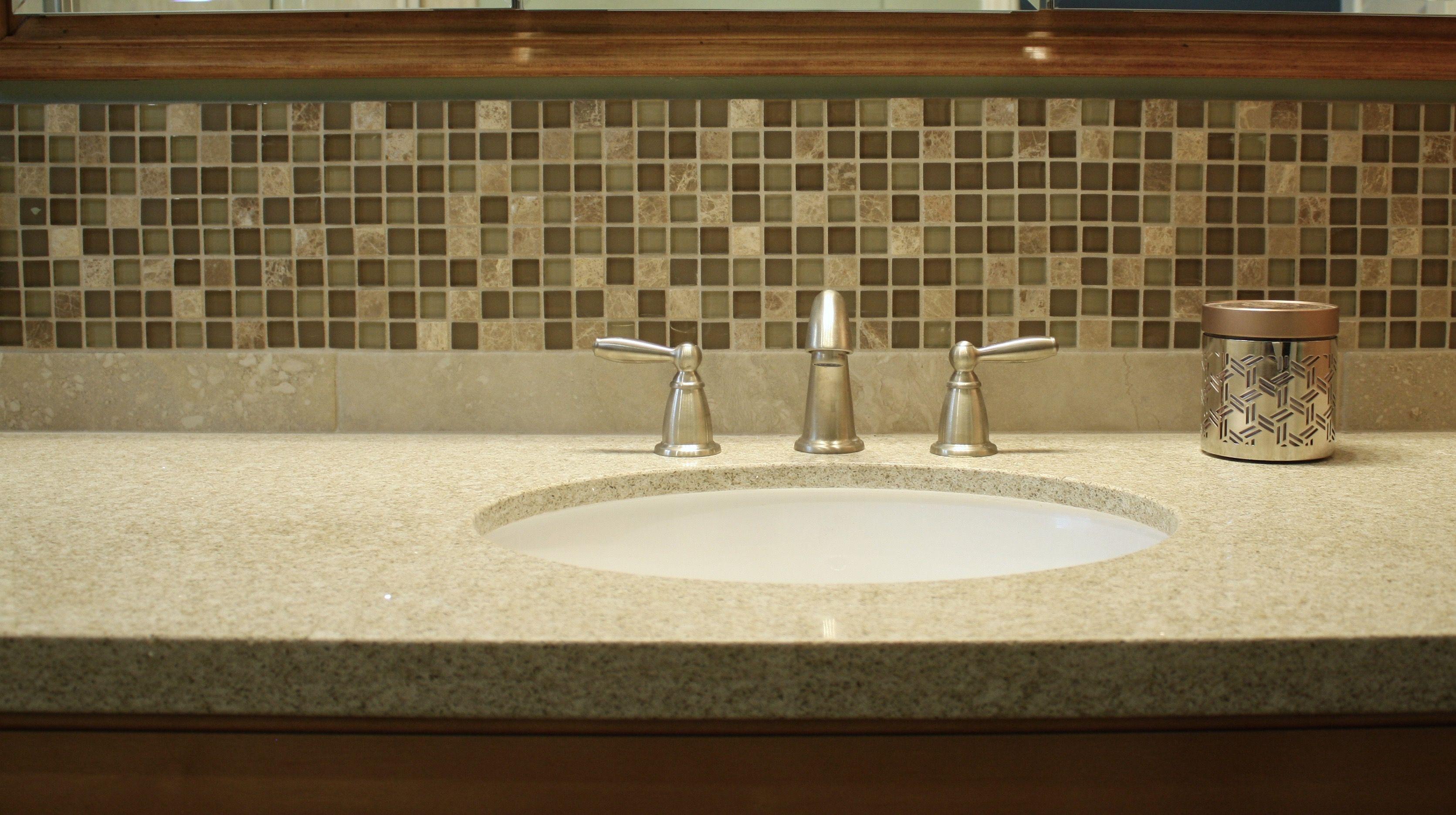 Mosaic tile bathroom. Plumb Crazy, Inc. | Bathroom | Pinterest ...