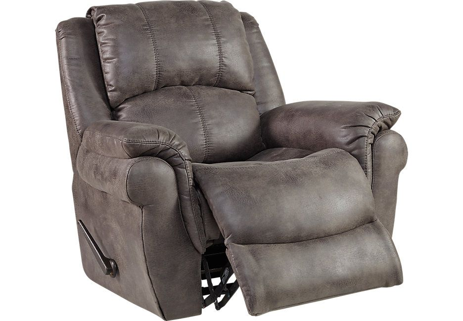 Corbin Gray Rocker Recliner Sofas