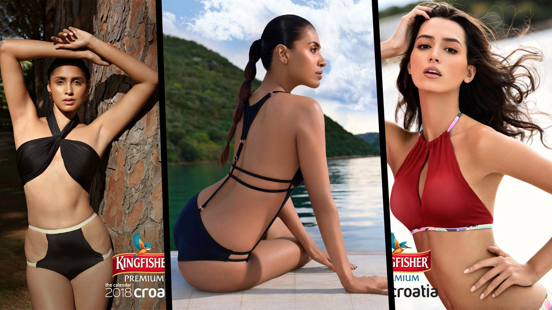 Kingfisher Calendar 2018 From Croatia Hot Photos Of Kingfisher